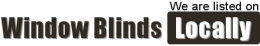 We are listed on Window Blinds locally